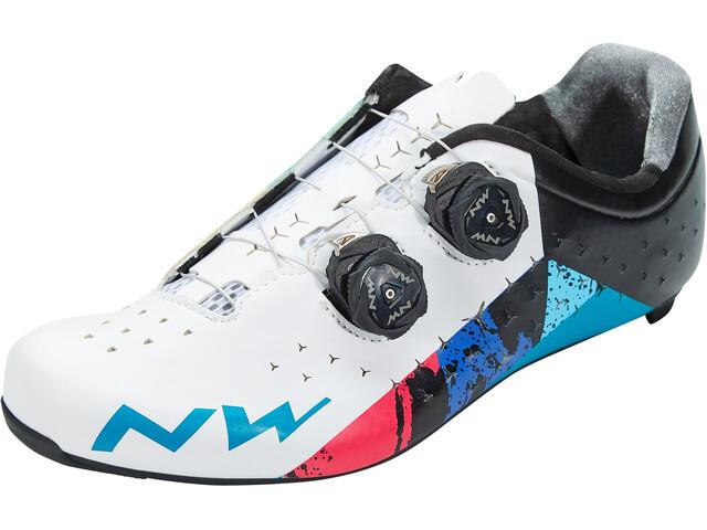 Northwave Revolution 2 Chaussures Homme, white/black/blue
